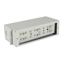 Outdoor low voltage steel B700 12volt LED brick step wall housing