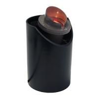 Landscape lighting MR16 adjustable sleeve shade fiberglass well light