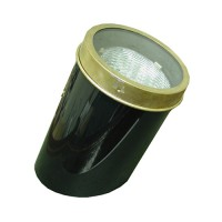 Outdoor landscape lighting PAR36 brass frame PVC low voltage well light