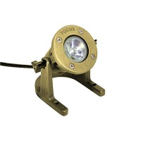 Focus SL-33-AB USA made cast brass MR16 underwater light low voltage
