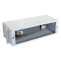 Outdoor low voltage steel B700 12volt LED bayonet brick step wall housing
