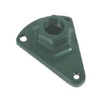 Surface Mount bracket for outdoor landscape lighting fixtures