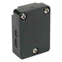 Quick outdoor landscape lighting CO-3T 12volt rectangular snap connector