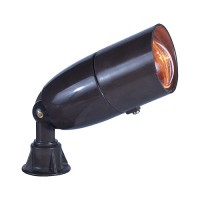 Landscape lighting fiberglass long bullet spot low voltage