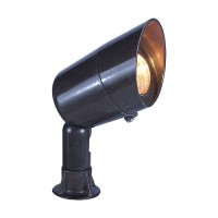 Landscape lighting fiberglass bullet spot low voltage