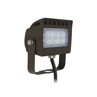 Orbit LED Outdoor landscape lighting bronze flood light, 12watt, warm white, Low Voltage, Aluminum LFL13-12WW-T-12V