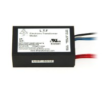 Outdoor LTF 60watt no load electronic AC transformer 12VAC ELV dimmable TA60WA12