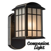 Maximus Craftsman COMPANION Oil Rubbed Bronze sconce security light, no camera, no audio, 3000K SPL06-07A1N4-ORB-K1