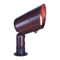 Landscape lighting alunimum bullet spot low voltage