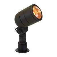 Landscape lighting short aluminum bullet spot low voltage