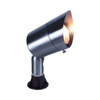 Landscape lighting stainless bullet spot low voltage