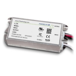 Bulk LTF 75watt LED no load electronic DC driver / transformer 12VDC ELV dimmable