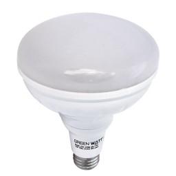 Green Watt LED 17watt BR40 flood light bulb 4000K natural white light dimmable