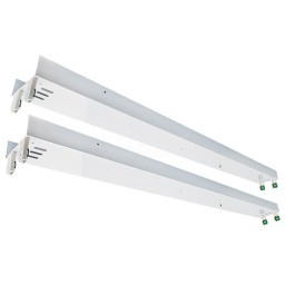 LED T12 8ft. retrofit kit for converting 8ft. fluorescent T12 tubes to 4ft. T8 LED Tubes pre-wired