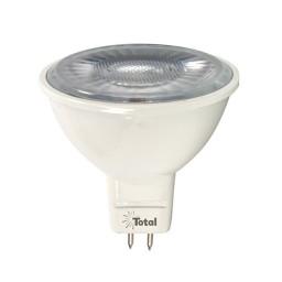 LED 7watt MR16 3000K warm white 25° narrow flood light bulb low voltage dimmable