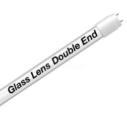 EZ LED T8 Double End Type B FROST glass lens retrofit tube, 18watt, 5000K Cool White Color