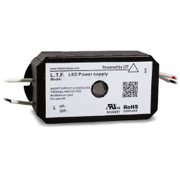 Bulk LTF LED 100watt no load electronic DC driver transformer 24VDC ELV dimmable TA100WD24LED