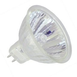 FMW MR16 35Watt 12V Flood with Cover Glass