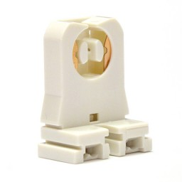 Fluorescent non-shunted socket for T8 LED  lamps