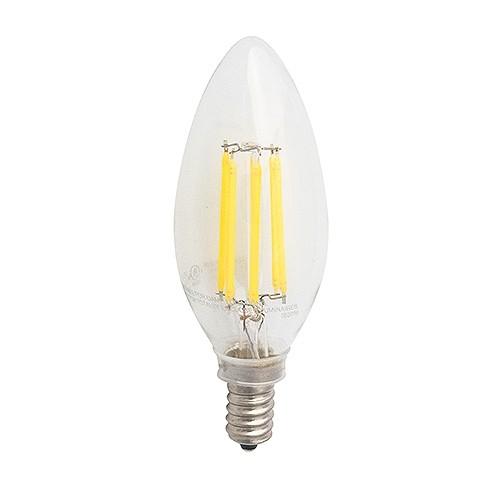 Green Watt LED vintage filament 4.5watt candelabra 5000K light bulb ...