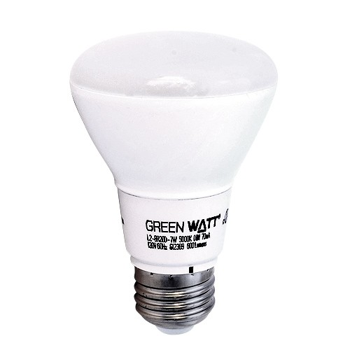 Green watt g l2 br20d 7w 5000k led 7watt br20 5000k flood light bulb green watt g l2 br20d 7w 5000k led 7watt br20 5000k flood light bulb dimmable mozeypictures Choice Image