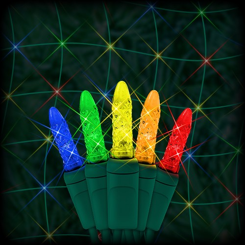 led multi color christmas net light 100 m5 mini led bulbs 6 spacing 4ft x 6ft green wire 120vac
