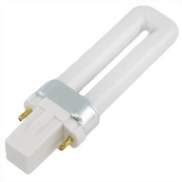 CFL 5watt PL bulb 1U 2-pin G23 41K 10,000 hrs