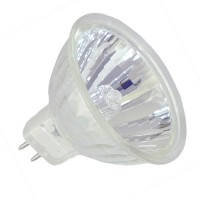 EXN MR16 50Watt 12V Flood with Cover Glass