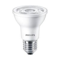 Philips 463687 LED Par20 6watt 3000K 35° flood AirFlux light bulb dimmable 6PAR20/LED/830/F35/DIM SO 120V 6/1