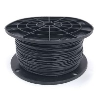 Black 18 gauge solid copper 500ft. Spool