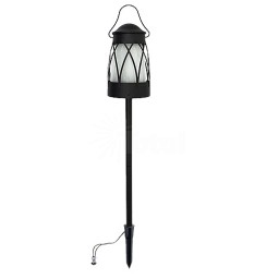 Malibu LED Landscape Lighting 8401-5530-01 low voltage Georgetown Collection black tiki torch lantern path light