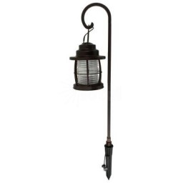 LED Malibu Landscape Lighting 8422-4110-01 metal 1.1watt bronze jelly jar pathway light