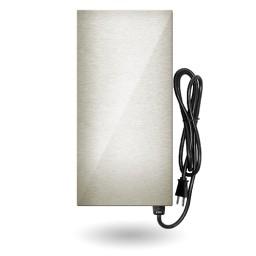 LED EMCOD EMT150SS-E multi-tap magnetic 150watt AC transformer 12V-15V stainless steel housing 120VAC