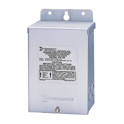 LED Intermatic PX100S 100 watt ground shield stainless steel 12volt AC safety transformer