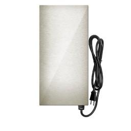 LED EMCOD EMT300SS-E multi-tap magnetic 300watt AC transformer 12V-15V stainless steel housing 120VAC