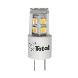 Outdoor LED 3watt G4 bi-pin 3000K outdoor rated light bulb 12volt AC