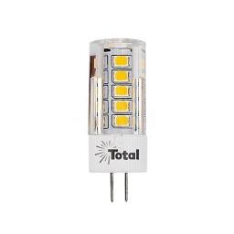 Outdoor LED 3watt G4 bi-pin 3000K outdoor rated light bulb 12volt AC