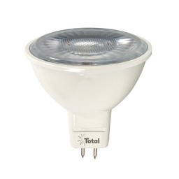 LED 7watt MR16 5000K cool white 25° narrow flood light bulb low voltage dimmable