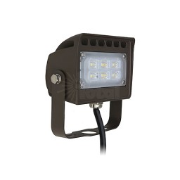 LED Outdoor landscape lighting bronze flood light, 12watt, warm white, Low Voltage, Aluminum