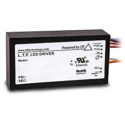 Outdoor LTF LED 75watt no load electronic AC transformer 12VAC ELV dimmable