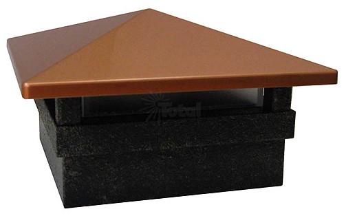 Malibu 8421 2402 01 low voltage led cast aluminum copper cast iron malibu 8421 2402 01 low voltage led cast aluminum copper cast iron square post cap light mozeypictures Images