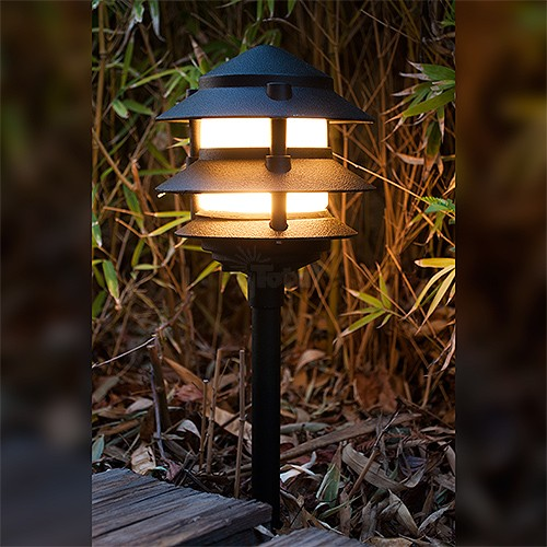 Led l2030 bk f ww black landscape lighting low voltage frosted black led l2030 bk f ww black landscape lighting low voltage frosted black three tier pagoda light warm white aloadofball Choice Image