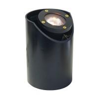 Landscape lighting MR16 adjustable sleeve cast aluminum well light