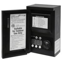 LED Malibu 8100-9045-01 45 watt outdoor transformer with digital timer and photo eye