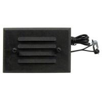 Malibu 8406-2403-01 low voltage metal oil rubbed bronze half brick LED step & deck light