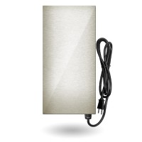 LED EMCOD EMT-75-SSHL multi-tap magnetic 75watt AC transformer 12V-15V stainless steel housing 120VAC