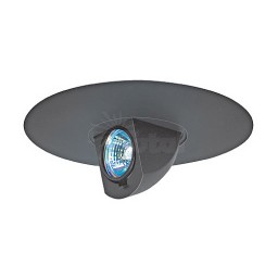 "6"" Low voltage recessed lighting adjustable black surface eyeball trim"