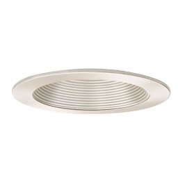 "5"" Shallow recessed lighting satin baffle satin trim"