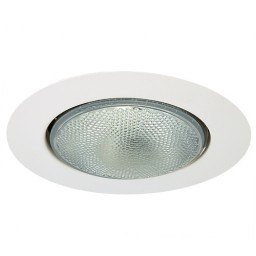 "6"" Recessed lighting Par 38 R40 white open trim"