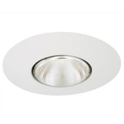 "6"" Recessed lighting Par 30 R 30 white open trim"